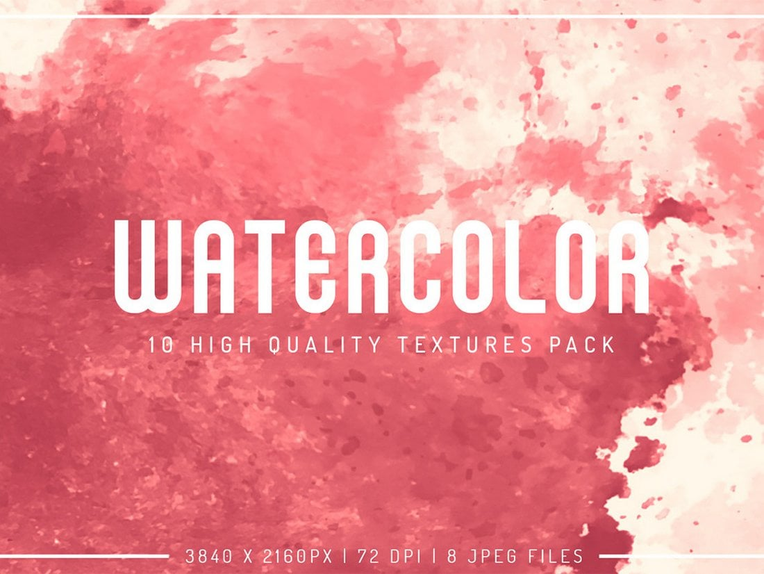 10 Free Watercolor Textures