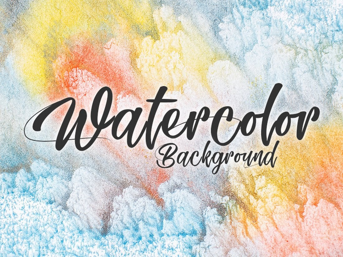 5 Free Abstract Watercolor Backgrounds