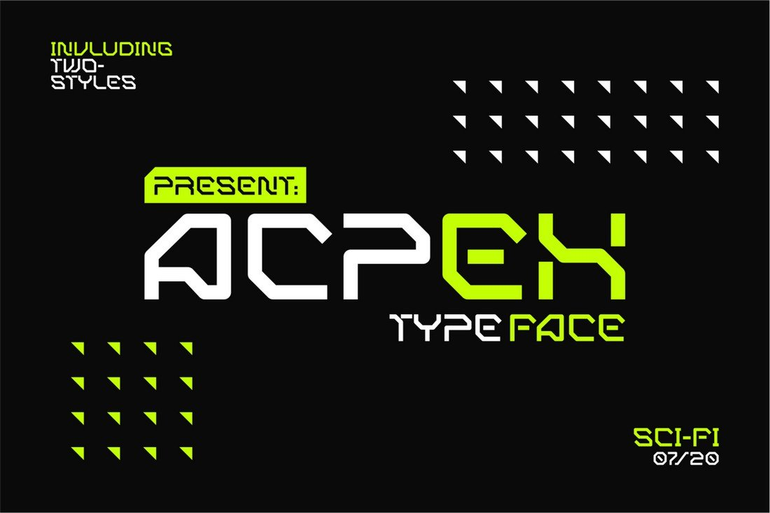 ACPEX - Font for Sports & Gym Videos