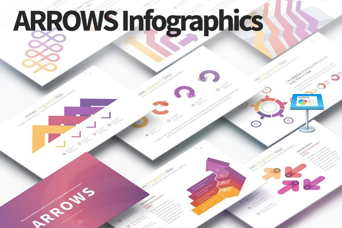 ARROWS - Keynote Infographics Slides