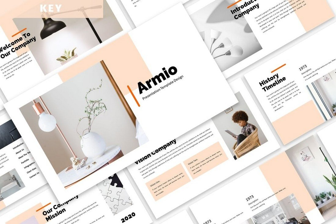 Armio - Modern Business Keynote Template