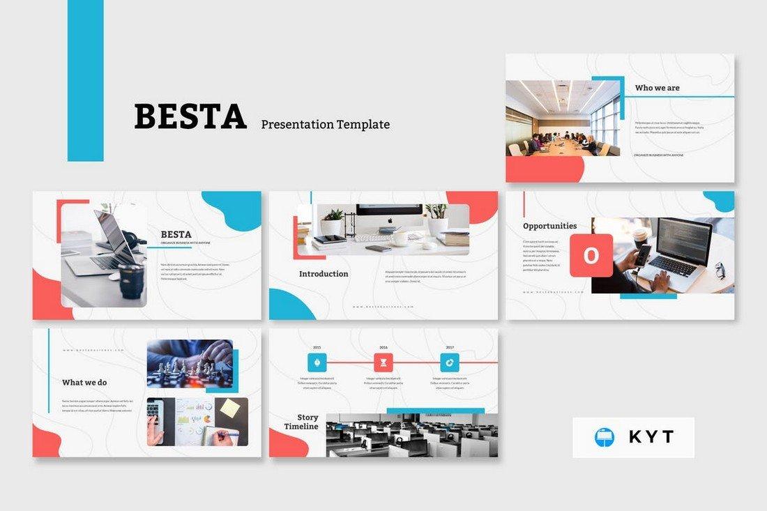 BESTA - Corporate Keynote Template
