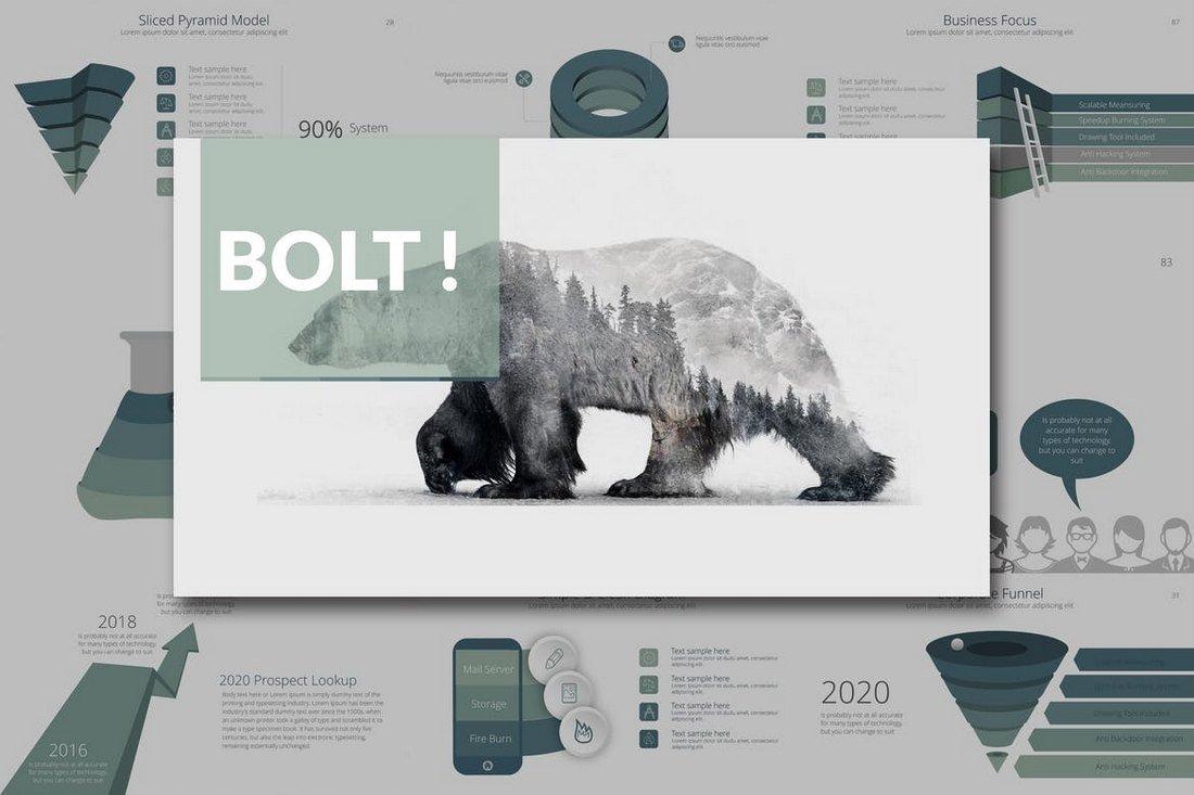 BOLT Corporate Keynote Template