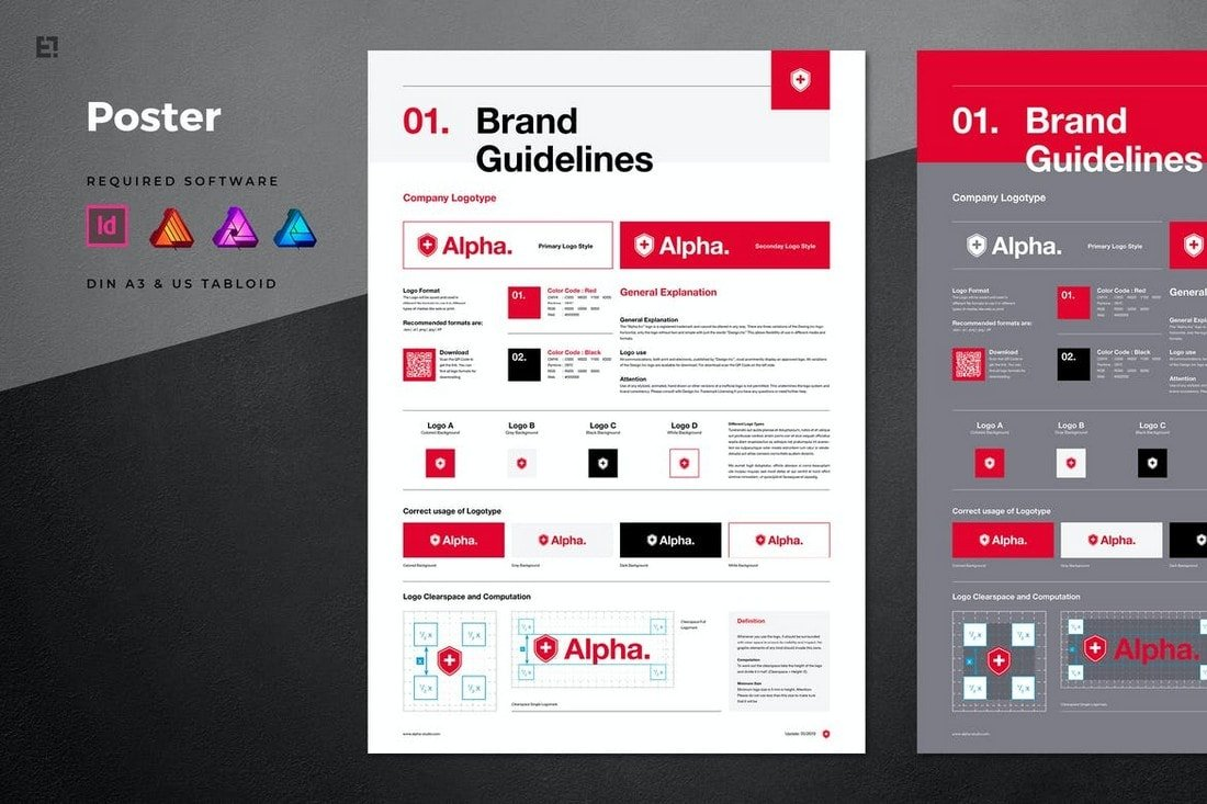 Brand Manual - Affinity Publisher Template