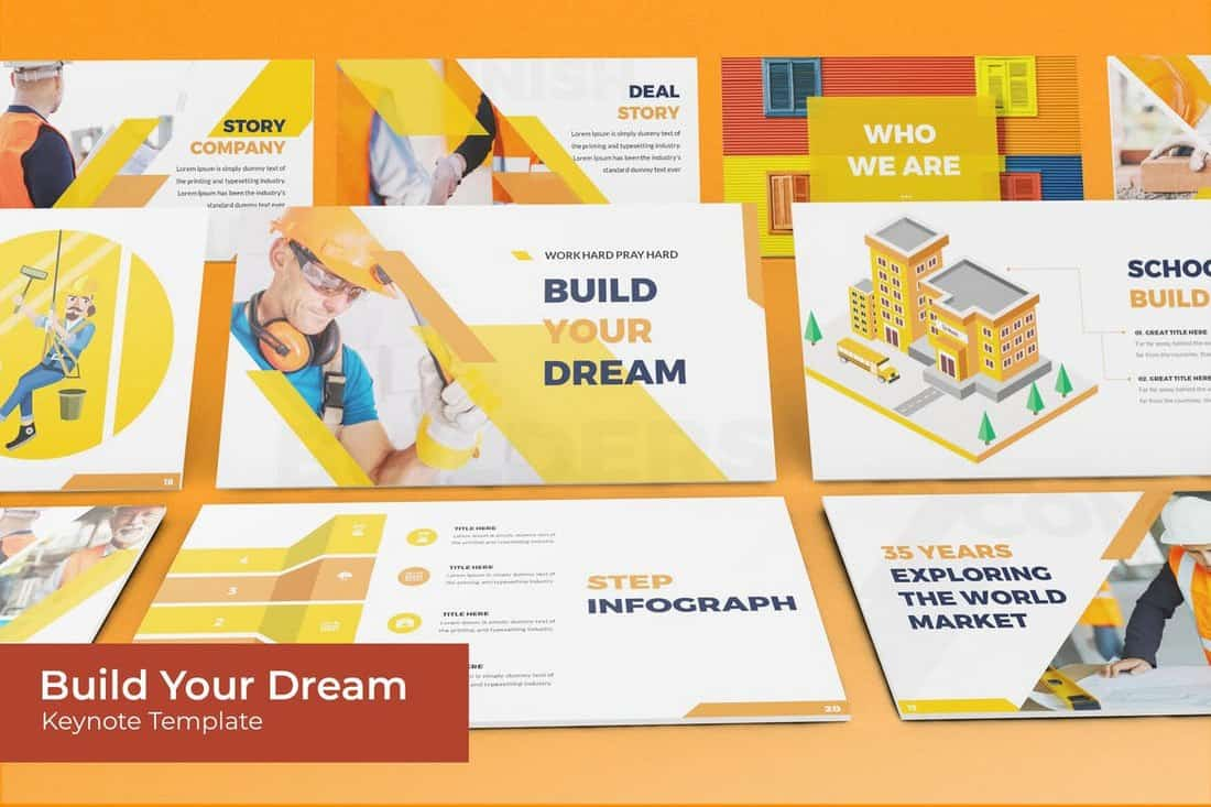 Build Your Dream - Business Keynote Template