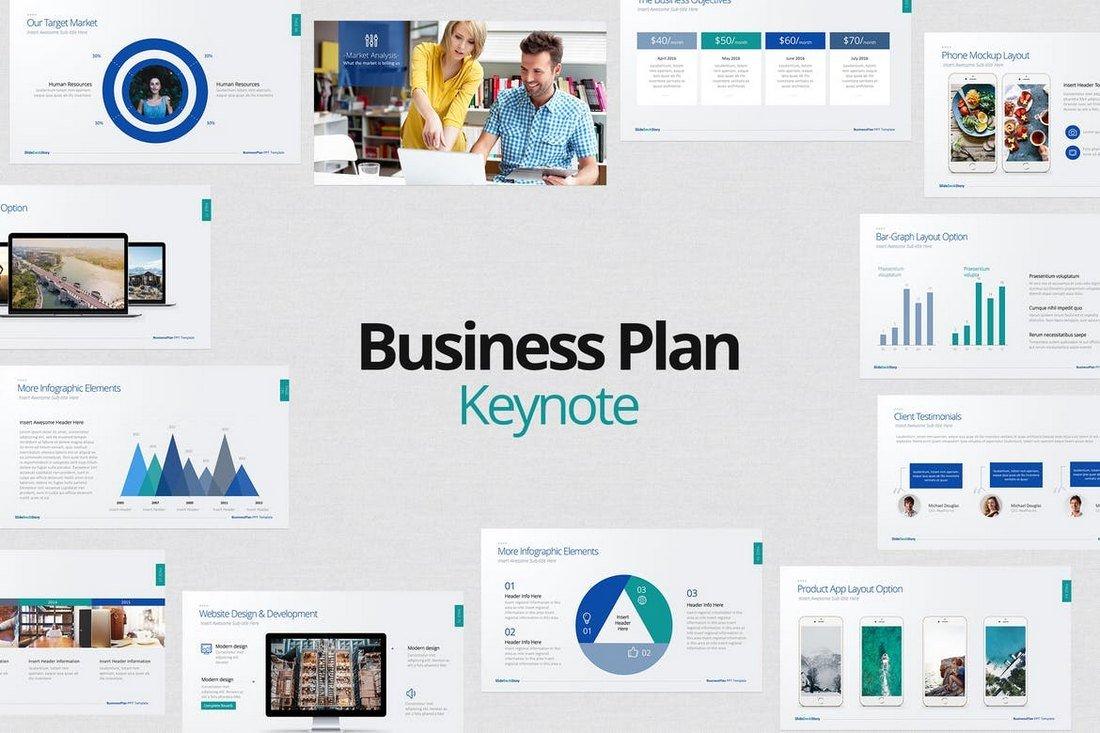 Business Plan - Keynote Template
