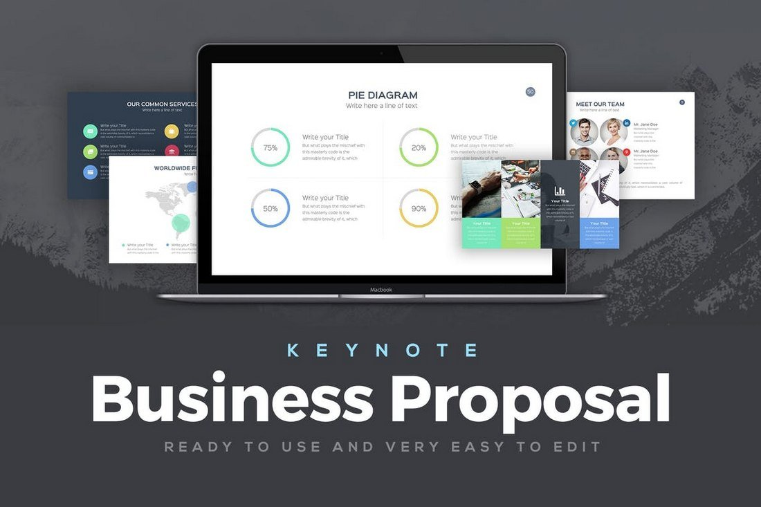 Business Proposal - Keynote Template