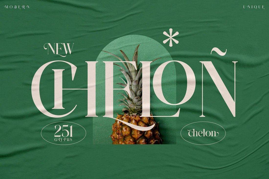 Chelon - Classy Serif Font