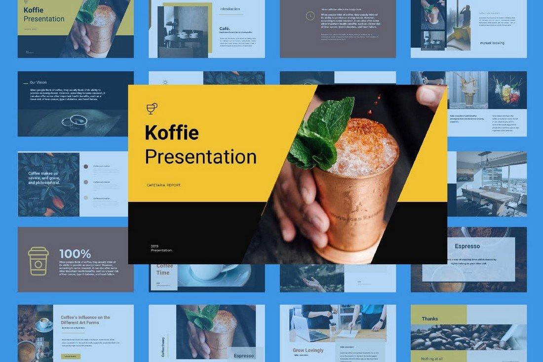 Coffee - Modern Keynote Presentation