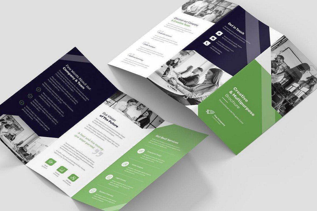 Creative Multipurpose Tri-Fold Brochure