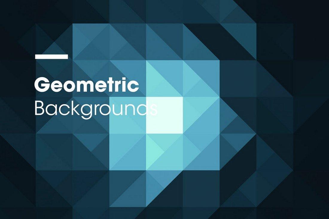 Dark Geometric Backgrounds