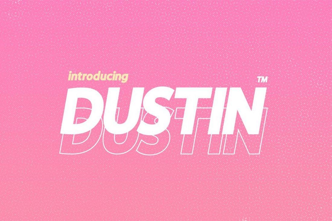 Dustin - Creative Font Family
