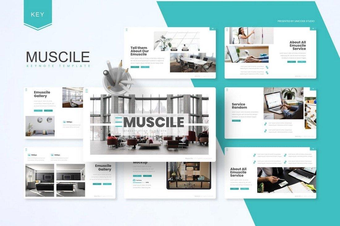 Emuscile - Business Keynote Template
