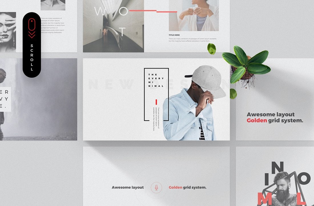 Every - Free Keynote & PowerPoint Template