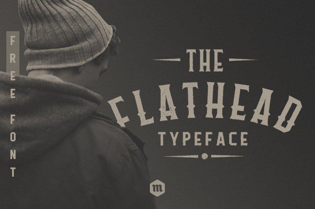 Flathead - Creative Tattoo Font