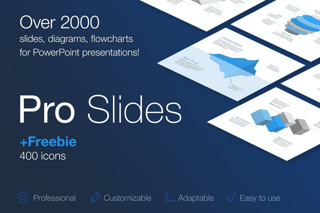 Flowchart & Diagrams for PowerPoint Template