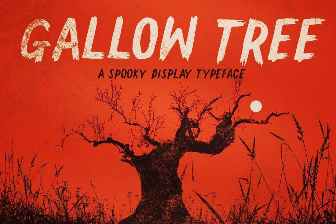 Gallow Tree - Halloween Font