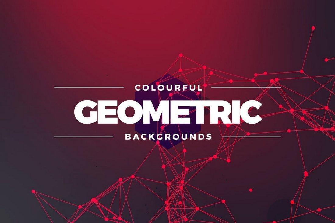 Geometric Colors Backgrounds