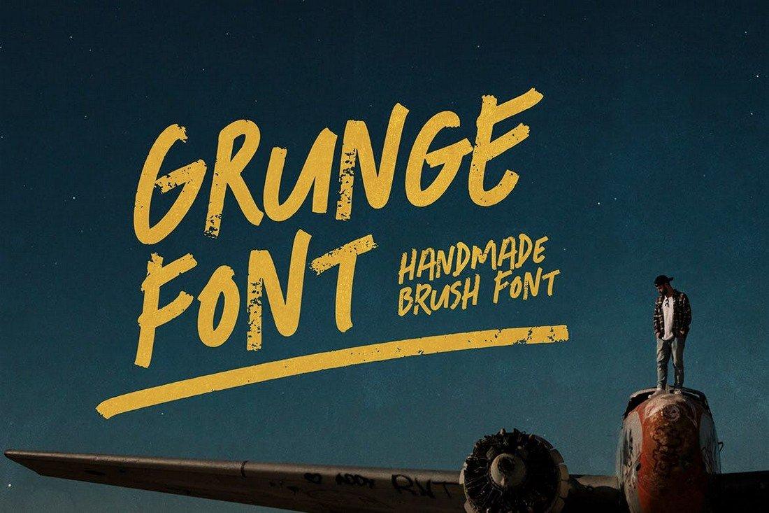 Grunge Font - Freestyle YouTube Font