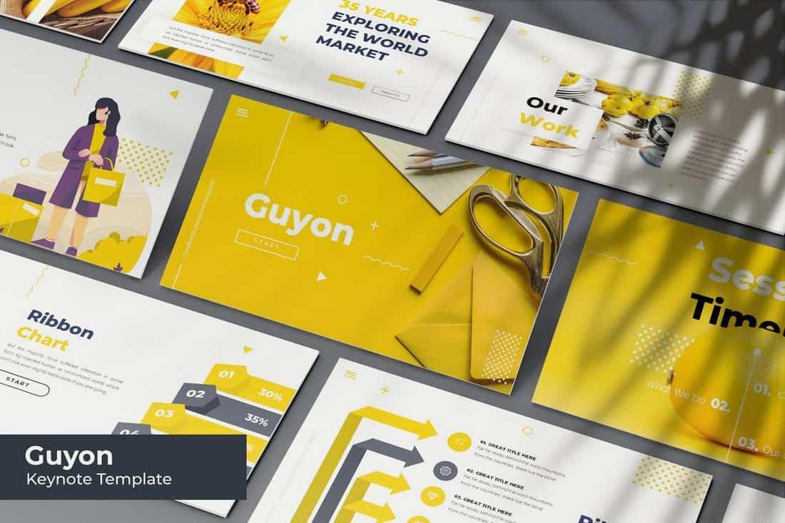 Guyon - Creative Keynote Template