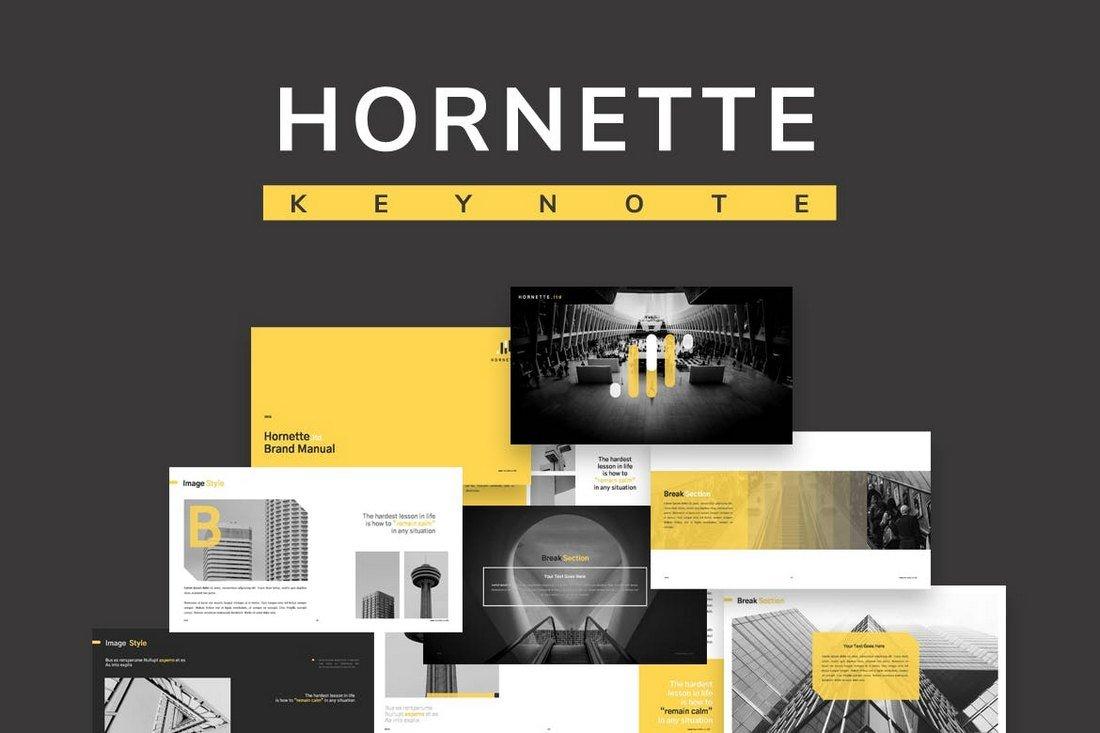 Hornette - Keynote Template