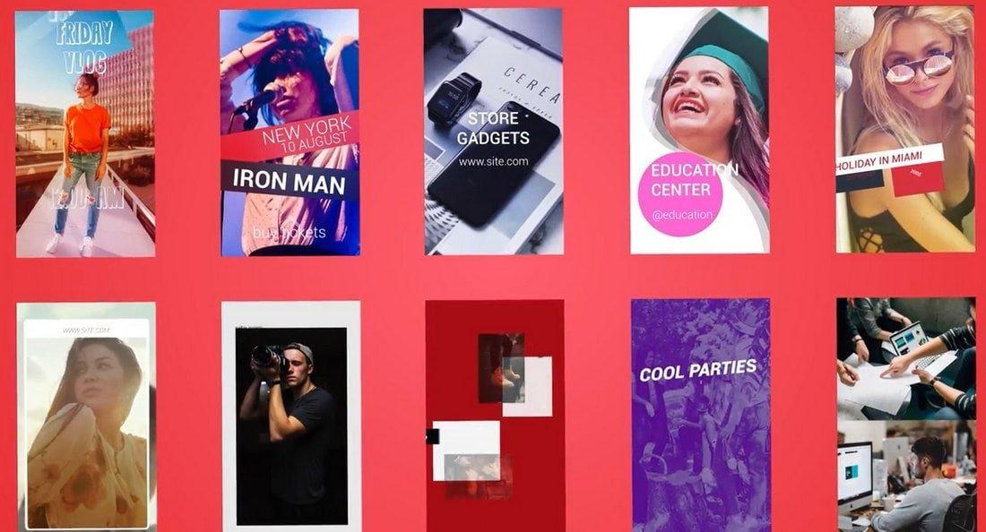 Instagram Stories - Free Premiere Pro Template
