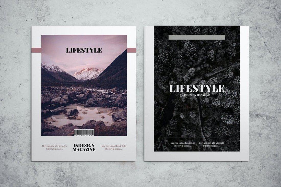 Lifestyle Affinity Publisher Magazine Template