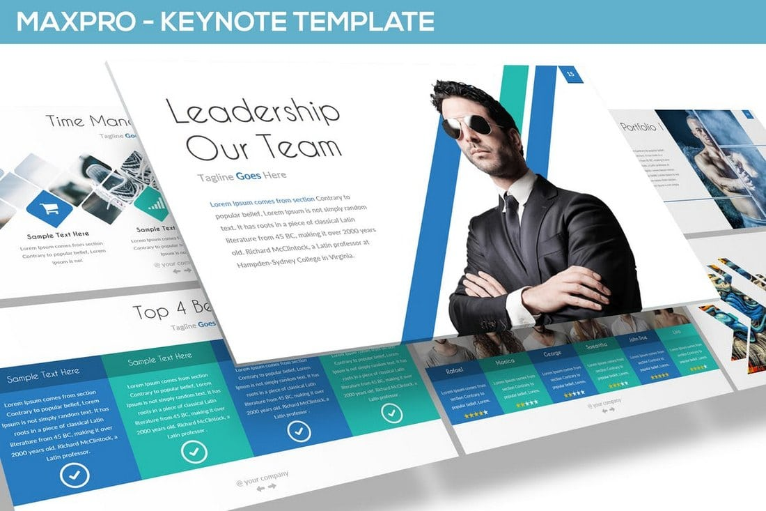 MAXPRO - Keynote Presentation Template