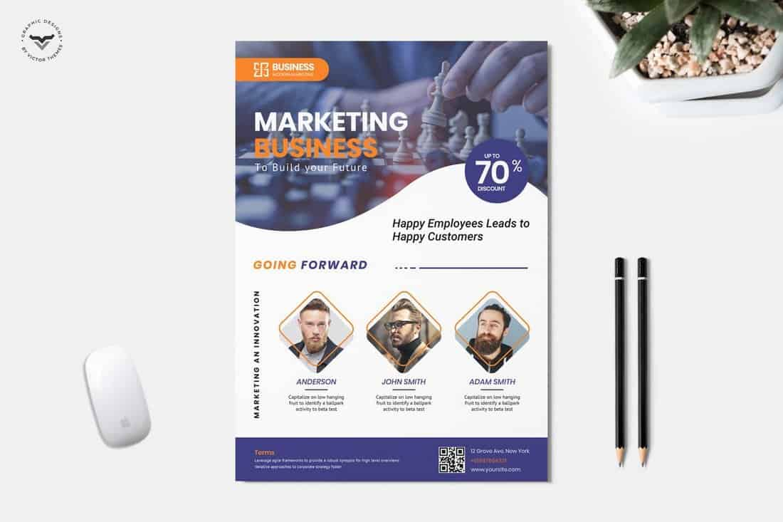 Marketing & Business Flyer Template