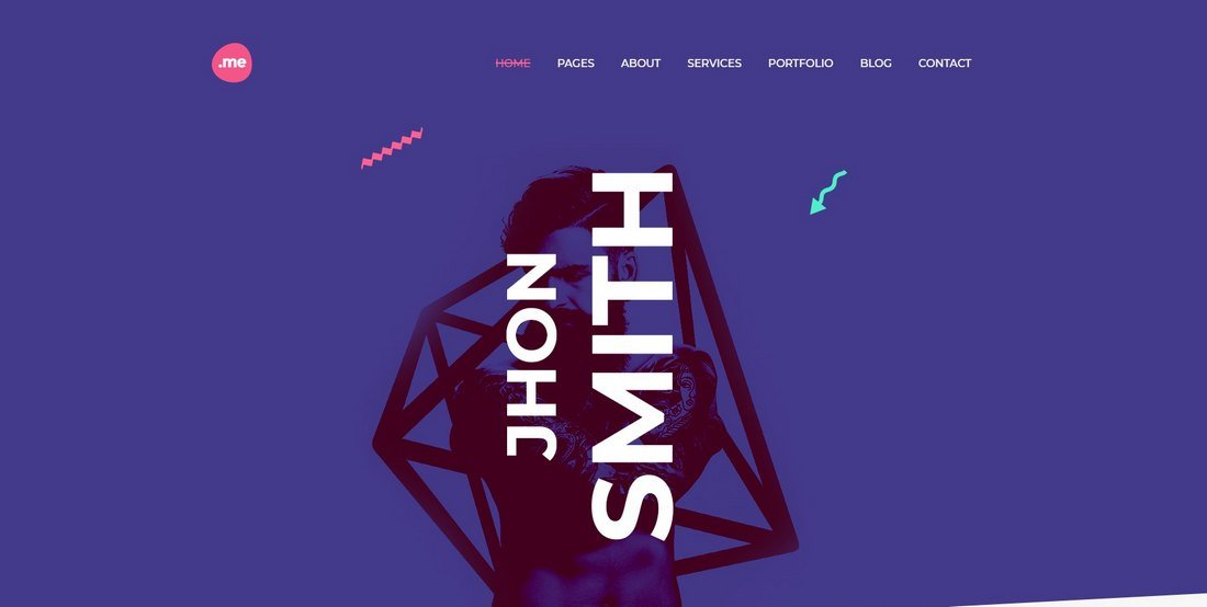 Me - Creative Portfolio & Resume HTML Template