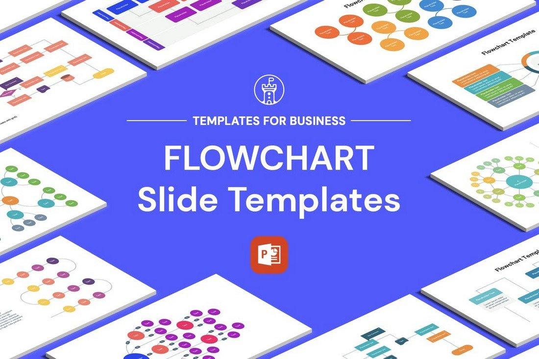 Multipurpose PowerPoint Flow Chart Templates