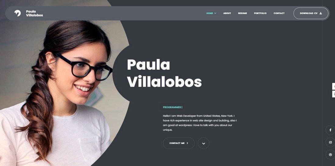 Myour - CV Resume HTML Template