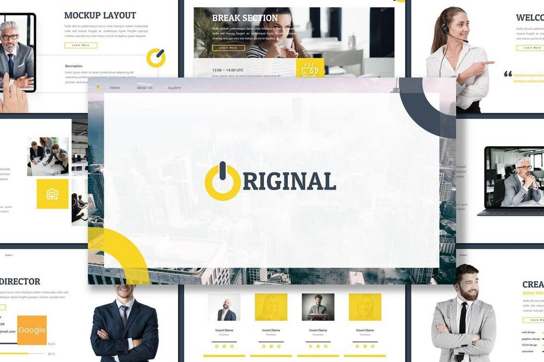 Original - Business Google Slides Template