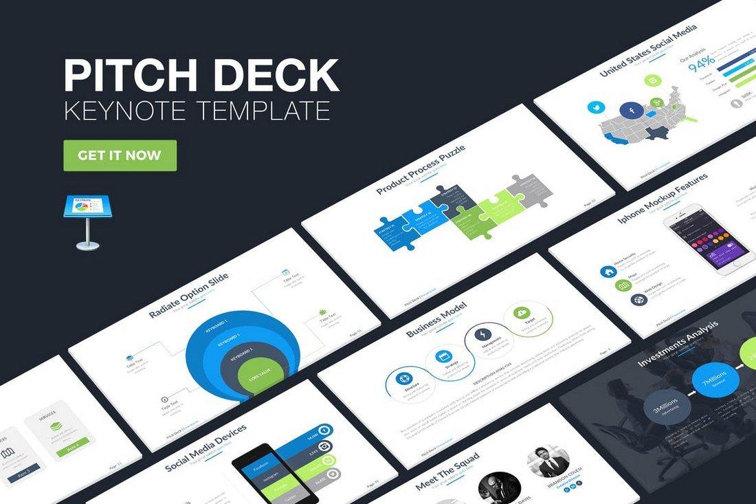 Pitch Deck Keynote Template