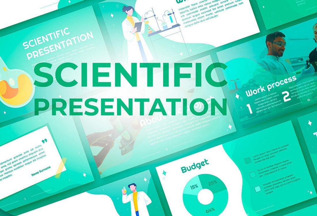 Scientific - Free Google Slides Template