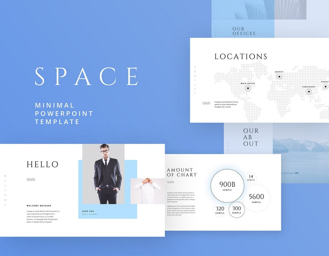 Space - Free Business Keynote Template