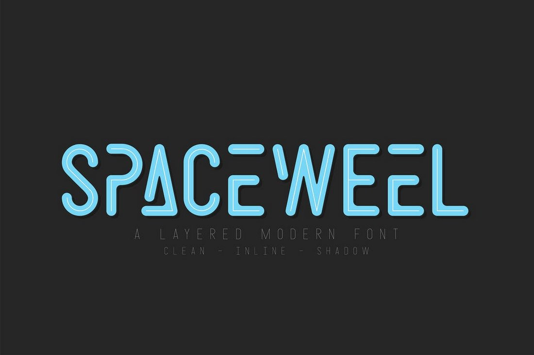 Spacewell - Space Font Family