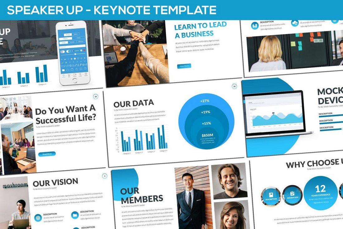 Speaker Up - Keynote Template