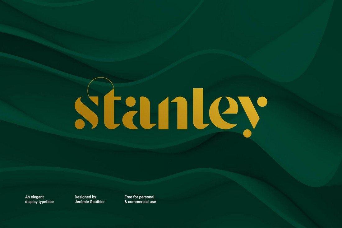 Stanley - Free Modern Display Font