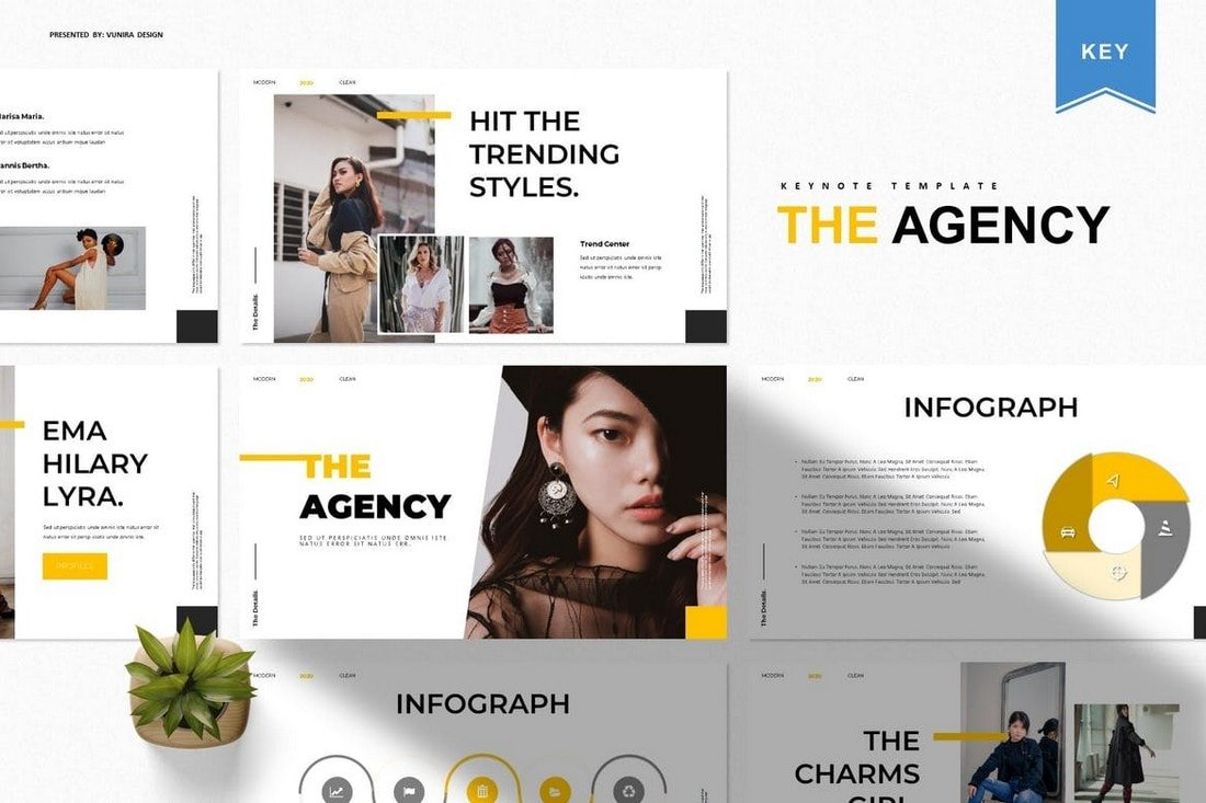 The Agency - Modern Keynote Template