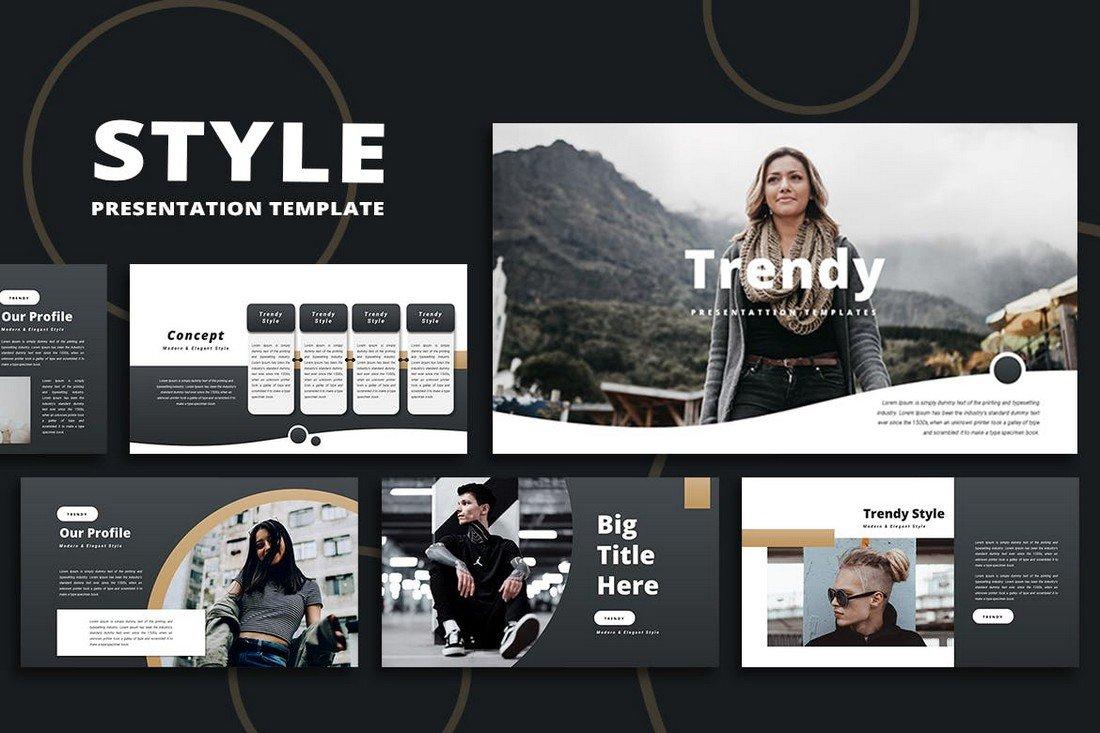 Trendy - Keynote Presentation Template
