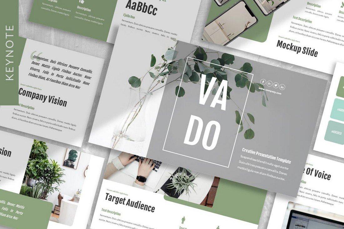 Vado - Brandbook Keynote Template