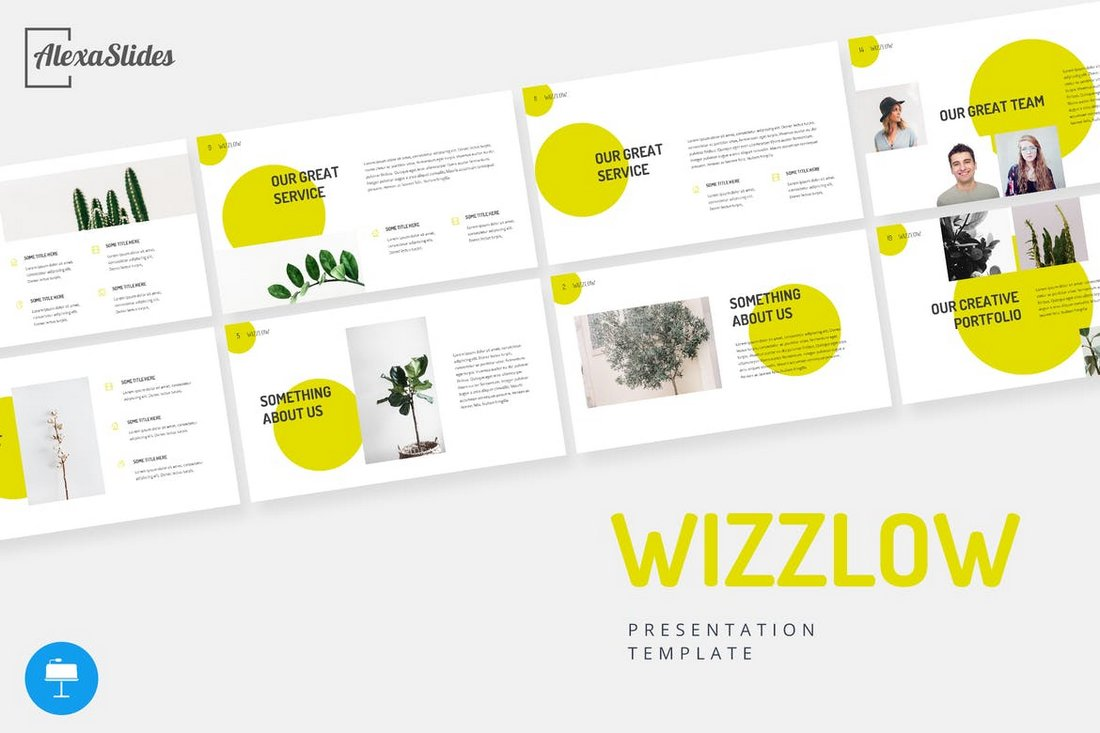 Wizzlow - Creative Keynote Template