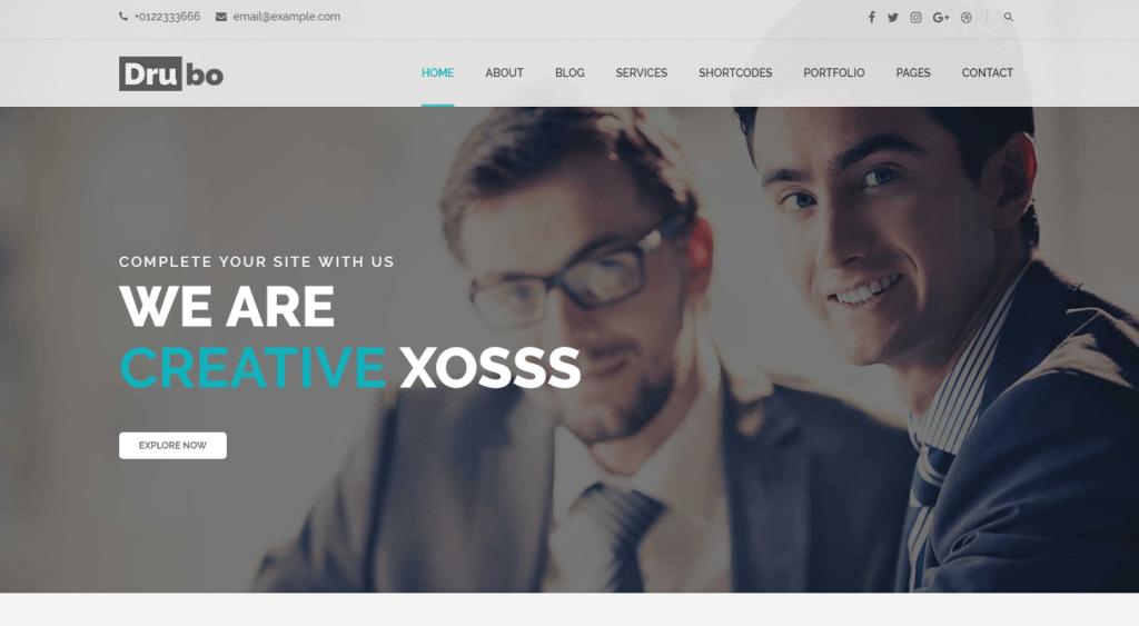 business wordpress templates