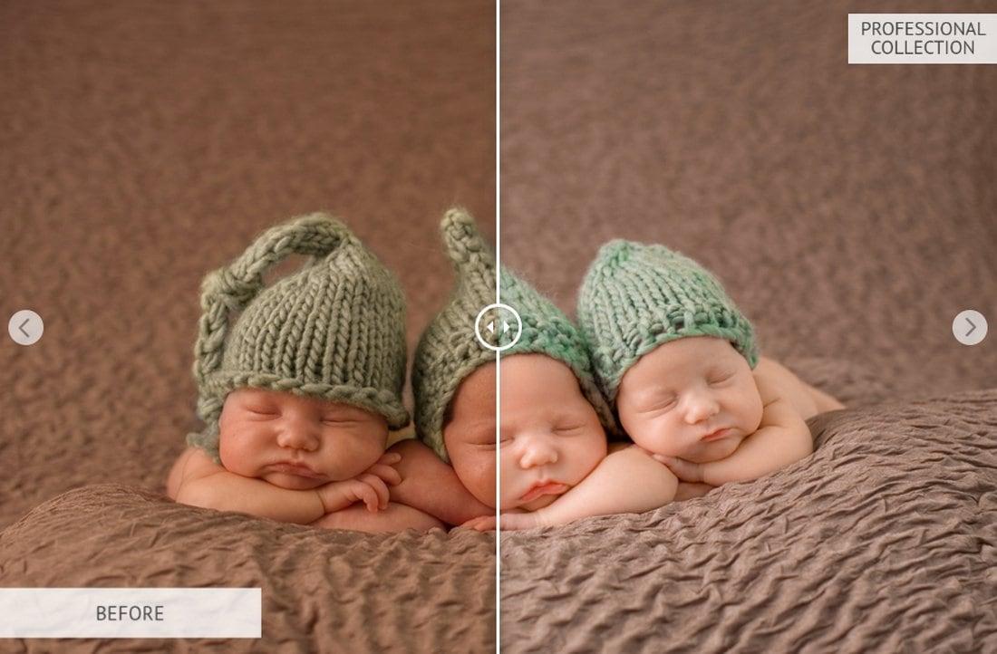 10 Free Baby Lightroom Presets