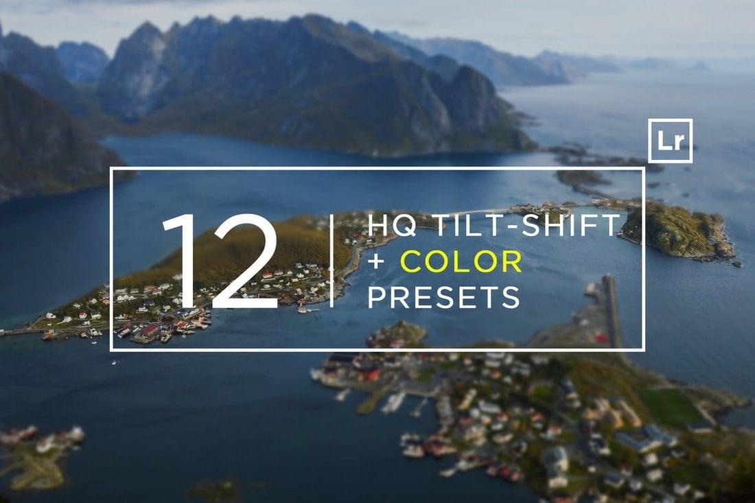 12 HQ Tilt-Shift + Color Lightroom Presets