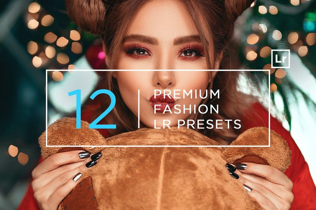 12 Premium Fashion Lightroom Presets