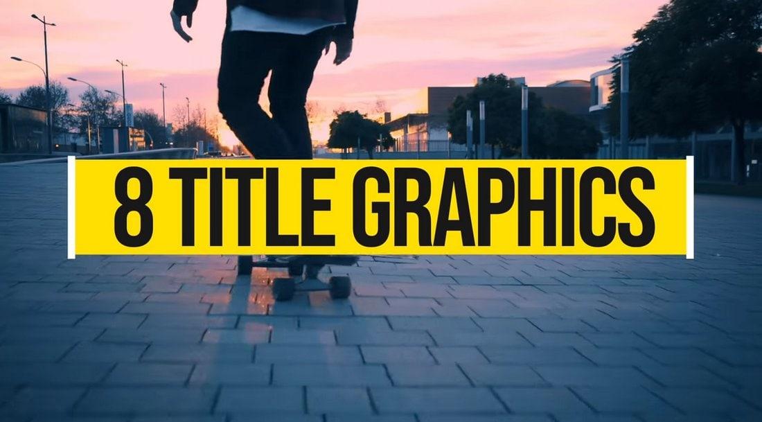 21 Free Premiere Pro Motion Graphics Templates