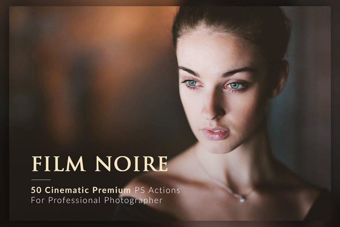 50 Film Noire Wedding Photoshop Actions Bundle