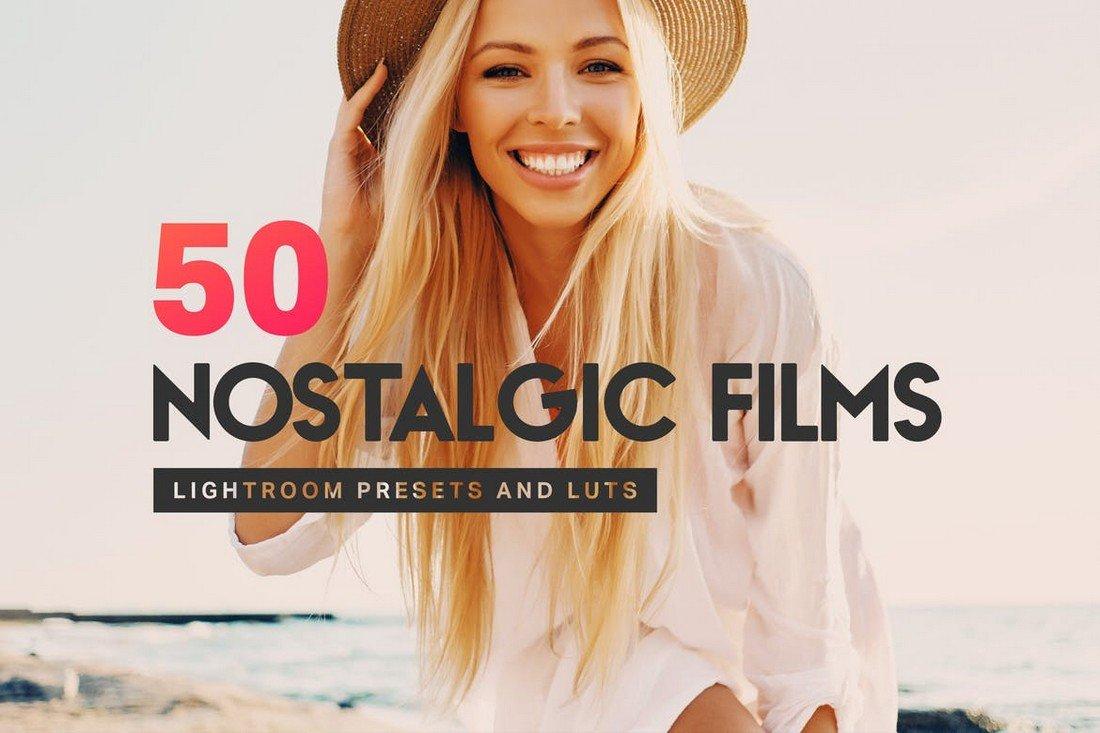 50 Nostalgic Film VSCO Lightroom Presets